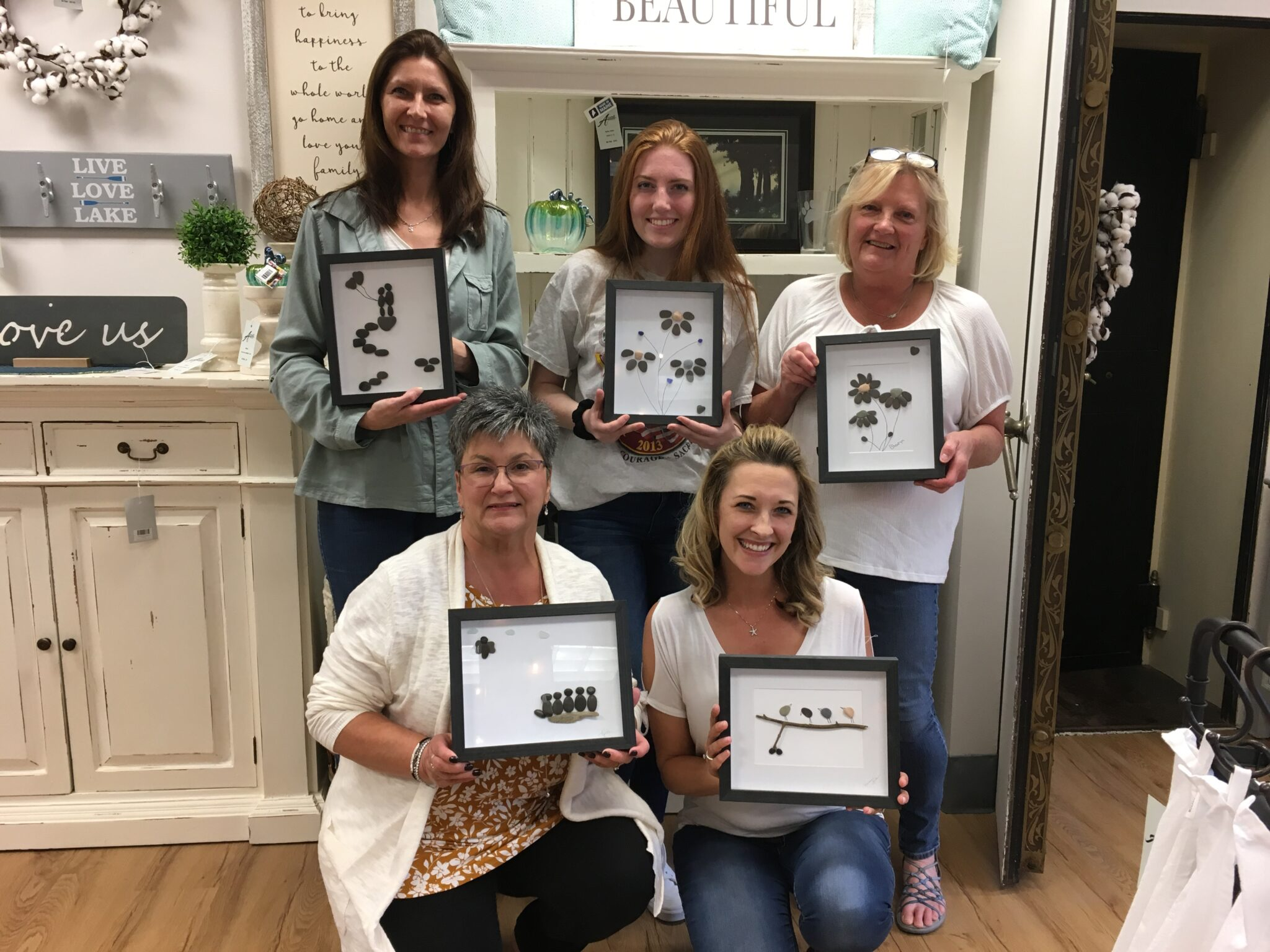Pebble Art Event @ ACCENTS  Home Furnishings & Decor, Inc.