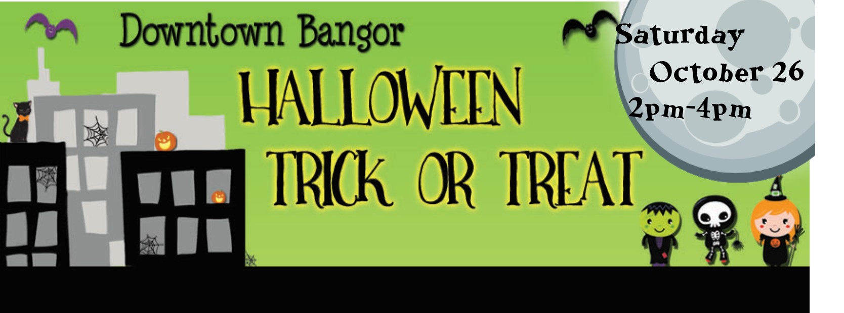 Halloween Trick Or Treat @ Downtown Bangor