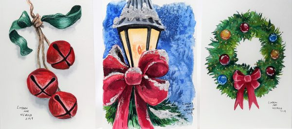 Watercolor Christmas Card Event @ ACCENTS Home Furnishings & Decor, Inc.